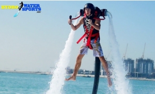 Jet Pack, Jetovator or Flyboard Experience at The Palm from Hydro Water Sports, from AED 199.