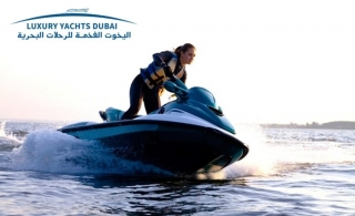 An exciting Jet Ski Ride at Jumeirah Beach 5 by Luxury Yachts Rental, from AED 99.