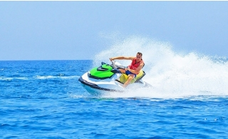 Up to 60 Minutes Jet Skiing Session or Banana Ride from Bissalama Travels.