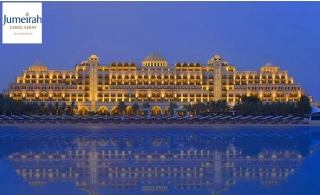 5* Jumeirah Zabeel Saray 1-Night Stay with Breakfast or Half-Board