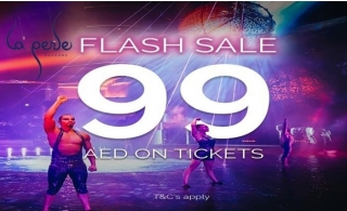 La Perle Early Bird Flash Sale from AED 99 Only. Book your tickets in advance for August Laperle Show!