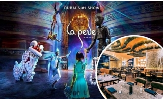 La Perle Show Ticket with Dinner Laperle Package at Al Habtoor City.