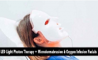 LED Light Photon Therapy with Microdermabrasion & Oxygen Infusion Facials from Thai Elite Rehabilitation Center.