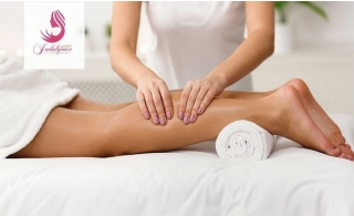 Lymphatic Drainage Treatment with Moroccan skin cleansing treatment at Indulgence Beauty.
