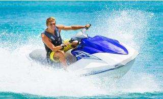 Jet Ski Ride for up to 3 people at Al  Mamzar Beach.