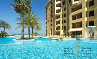 5* Marjan Island Resort & Spa One night stay with breakfast for AED 339.
