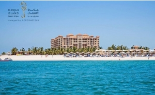 5* Marjan Island Resort & Spa Hotel Stay with breakfast.