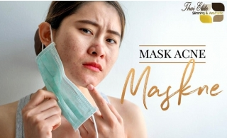 "Mask Acne ""MASKNE"" Facial Treatment at Thai Elite Center."