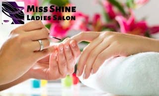 Hair, Nails & Skin salon treatments at Miss Shine Ladies Salon-Ajman, starting at AED 69.
