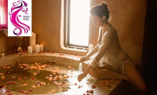 Moroccan bath at Norsain ladies beauty lounge Starting from AED 119