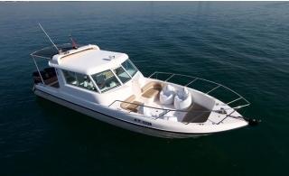 60-180 Minutes Yacht Trip around Dubai Ain or Atlantis for Up to 10 People.