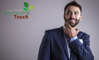 Get a new attractive look with Naturopathy Touch haircut, beard trim or shave, manicure or pedicure and more services. Men's grooming packages start from AED 64 only!