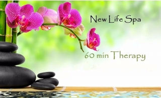 1 Hour Full Body Oil Therapy for AED 59 at New Life Spa