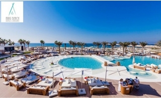 5* Nikki Beach Resort & Spa Dubai 1-Night Stay with Breakfast.