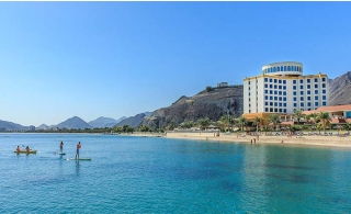 4* Oceanic Khorfakkan Resort & Spa Hotel One-Night Family Stay With Breakfast