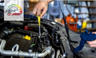 Oil change with Genuine filter for American cars, Japanese cars, European and German cars, will include free computer check-up @ ZEE SPEED AUTO REPAIR.
