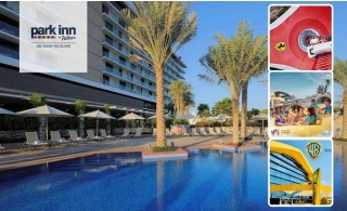 3* Park inn Yas Island Hotel with Breakfast and 3 Days Parks Access