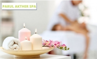 "60-120 Minutes Full Body Therapy at the newly opened ""Parul Akther Spa"" from AED 59 only. Four-Hand Massage also available."