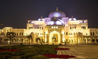 "Take a tour to the new attraction in Abu Dhabi the ""Qasr Al Watan"",  Palace and Garden Ticket"
