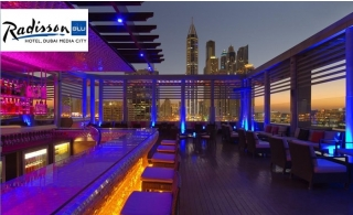 Dubai Quarantine Package for 15 Nights Stay at 4* Radisson Blu Hotel - Media City. Limited Period Offer.