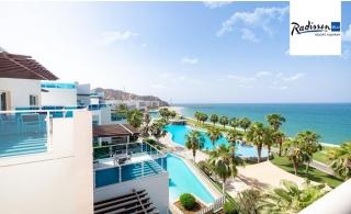 5* Radisson Blu Resort Fujairah Stay with Breakfast or Half-board.