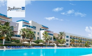 5* Radisson Blu Resort Fujairah Standard Room Family Stay with Breakfast or Half-Board.
