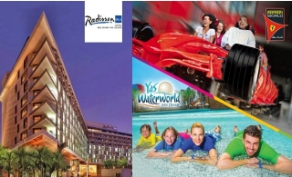 Radisson Blu Hotel Abu Dhabi Yas Island: Stay & Play Package includes Ferrari World, Yas Water World or Warner Bros Tickets.