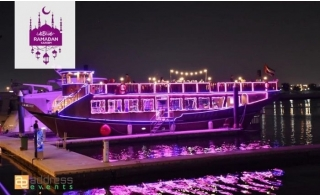 2-Hour iftar Cruise along Dubai Water Canal by Address Events.