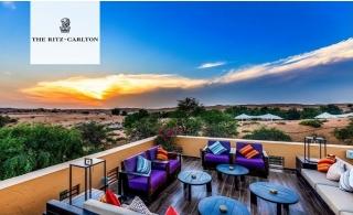 5* Ritz-Carlton Al Wadi Desert Resort Private Villa Half Board Family Stay.