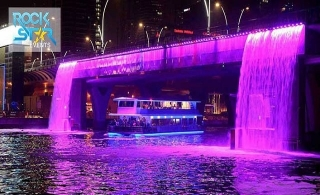 2 hours VIP dinner cruise along the Dubai Water Canal by Rock Star Events for AED 125 per person.
