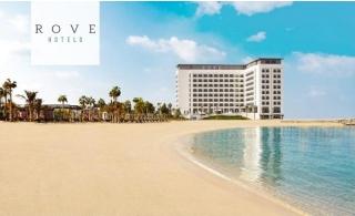 Rove La Mer Beach Dubai One-Night Stay with Breakfast.
