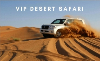 Desert Safari VIP 4x4 or Centralized Pick Up & Drop Off with Live Entertainment Shows and Buffet Dinner, from AED 49 by Royal Desert Tours.
