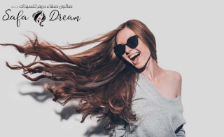 Hair color, Highlights, Keratin in any length and Hair Extensions at Safa Dream Ladies Salon, starting at AED 249