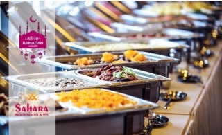 5* Iftar Buffet & Pool Access at Sahara Beach Resort, Sharjah.