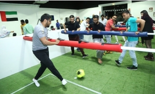 60 Minutes of Snookball or Human Foosball for Up to 10 at Kickoff Sports & Amusement Tracks from AED 59 only.
