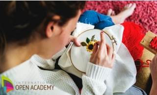 Creative Stitching Online Course from International Open Academy for only AED 29.