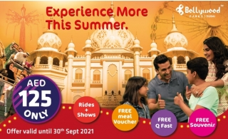 BOLLYWOOD PARKS™ Dubai One Day Pass Summer Offer