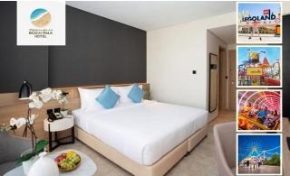 1-Night Stay at 4* Beach Walk Hotel + Dubai Parks Tickets