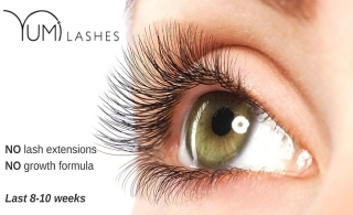 YUMI lashes enhancement package from Tanning Zone in JBR, starting at AED 199.