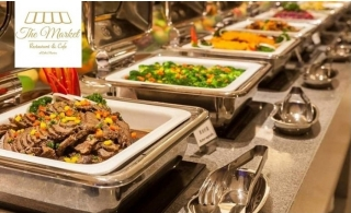 International Dinner Buffet at The Market Restaurant Marina