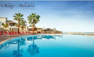 The Village at 5* Cove Rotana RAK One Night All Inclusive Stay.