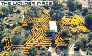 The Wonder Maze Full Day Pass – The World's Largest Mobile Maze for AED 35 Only! valid in 3 locations