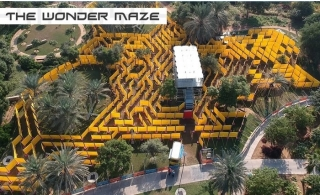 The Wonder Maze Full Day Pass – The World's Largest Mobile Maze for AED 35 Only.