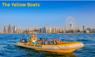 60 to 99Minutes Dubai or Abu Dhabi Tour by The Yellow Boats Tour.