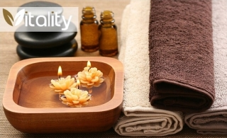 Soothe your mind and body with 1-hour oil relaxation therapy at the Vitality Spa, for AED 89.