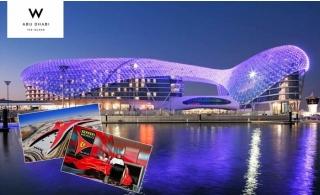 5* W Abu Dhabi – Yas Island Hotel Stay with Ferrari World, Yas Water World or Warner Bros Tickets.