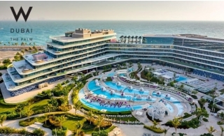 5* W Hotel - The Palm Dubai Family Stay with Breakfast or Half Board.