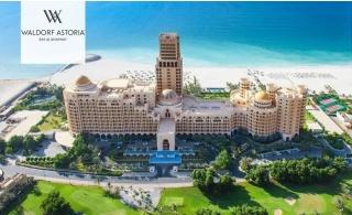 5* Waldorf Astoria Ras Al Khaimah Family Stay with Breakfast or Half board