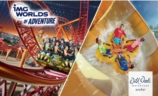Combo: Wild Wadi Ticket with IMG Worlds of Adventure or Green Planet.