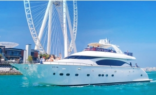 Two or Three Hours Xclusive Yacht Tour with food and beverages.